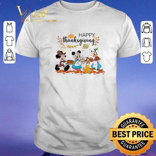 Pretty Happy Thanksgiving Disney Characters shirt