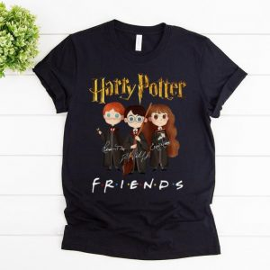 Pretty Harry Potter Friends Signatures Harry Ron And Hermione shirt
