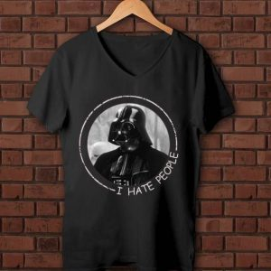 Pretty I Hate People Darth Vader shirt
