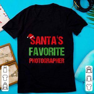 Pretty Santas Favorite Photographer Funny Ugly Christmas Gift shirt