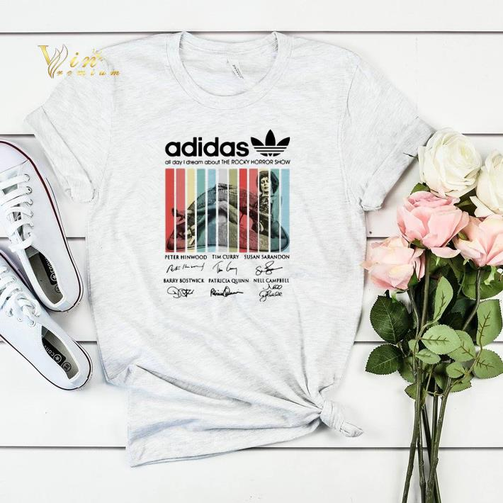 Signatures adidas all day i dream about The Rocky Horror Show shirt 4 - Signatures adidas all day i dream about The Rocky Horror Show shirt