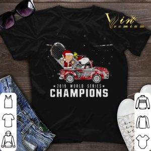 Snoopy Charlie Brown Washington Nationals 2019 Christmas shirt sweater