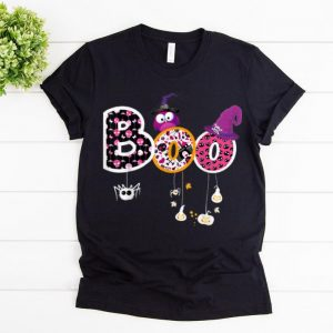 Top Boo Halloween Costume Spiders, Ghosts, Pumkin & Witch Hat shirt