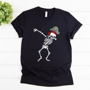 Top Dabbing Skeleton With Pirate's Hat shirt