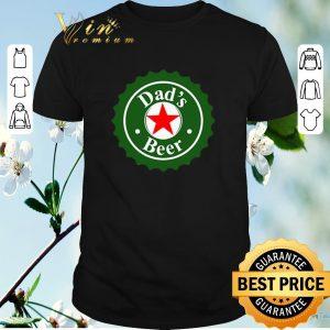 Top Dad's Beer Heineken logo parody shirt sweater