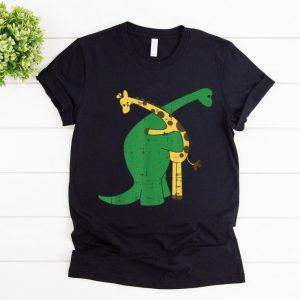 Top Giraffe Dinosaur Hug Love Dino Animals Safari Halloween Gift shirt
