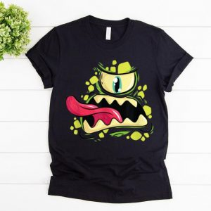 Top Green Monster Cyclops Gift For Halloween Party shirt