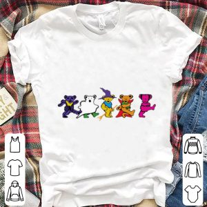 Top Halloween Grateful Dead Dancing Bears shirt