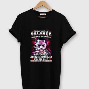 Top Joker Como Um Homem De Balanca Contenho Em Mim Uma Besta Um Anjo shirt