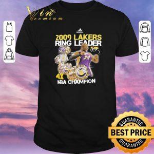 Top NBA Champion Adidas 2009 Lakers Ring Leader Kobe Bryant shirt
