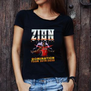 Top Pelicans Zion Williamson Domination tour 2019 2020 shirt