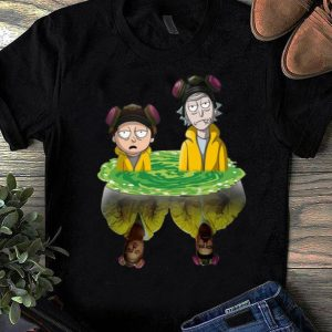 Top Rick And Morty Breaking Bad Water Reflection shirt