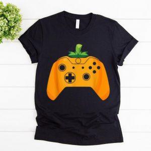 Top Video Gamer Halloween Funny Pumpkin Costume shirt