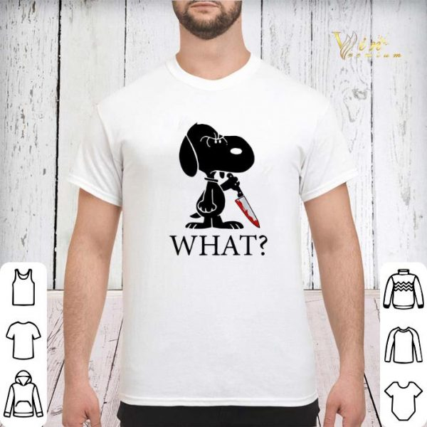 What Murderous Snoopy With Knife shirt sweater
