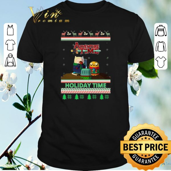 Awesome Adventure Time Holiday Time Ugly Christmas shirt sweater
