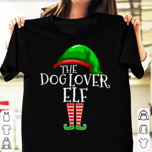 Awesome Dog Lover Elf Group Matching Family Christmas Gift Mom Dad shirt