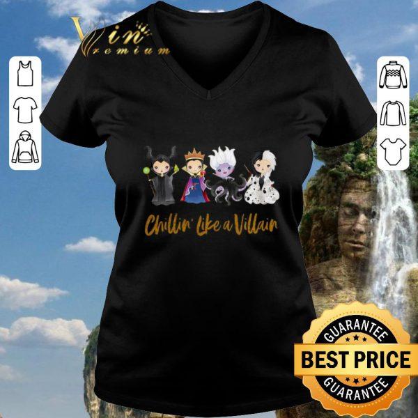 Awesome Halloween Maleficent Chillin' Like A Villain Disney shirt 2020