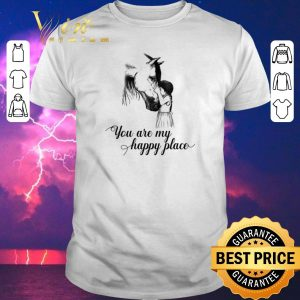 Awesome Horse and girl you are my happy place shirt