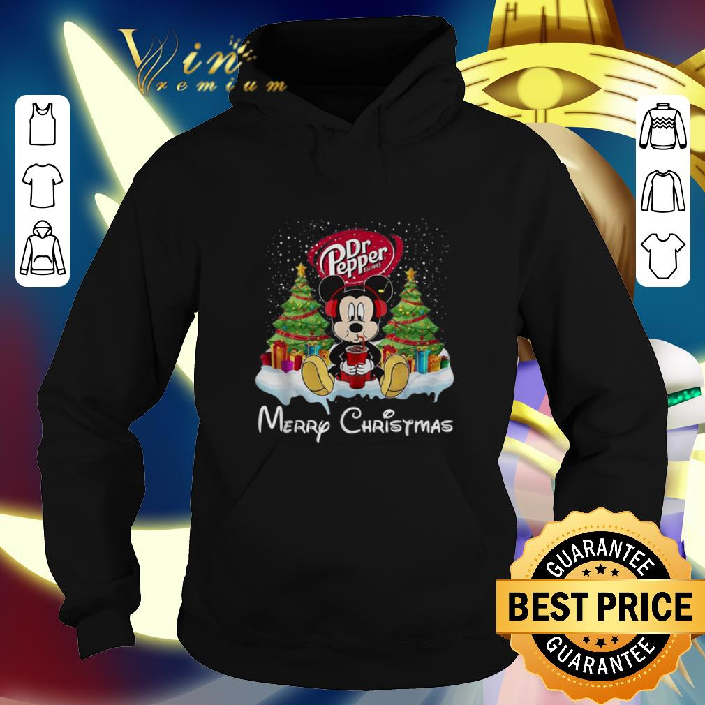 Awesome Mickey Mouse drink Dr Pepper Merry Christmas shirt 4 - Awesome Mickey Mouse drink Dr Pepper Merry Christmas shirt