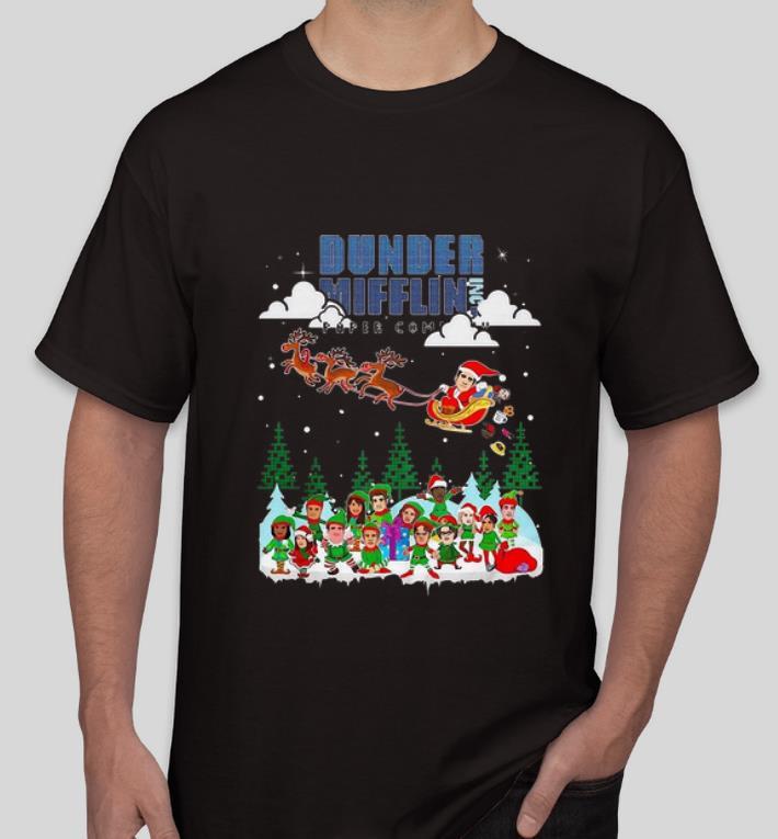 Beautiful Dunder Mifflin Paper Company Merry Christmas shirt 4 - Beautiful Dunder Mifflin Paper Company Merry Christmas shirt