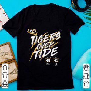 Beautiful Lsu Tigers 46 Alabama 41 Tigers Over Tide shirt