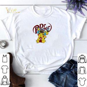 Detective Pikachu drinking Dr Pepper shirt sweater