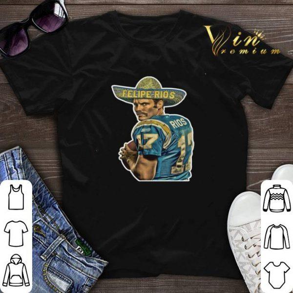 Felipe Rios San Diego Chargers shirt sweater