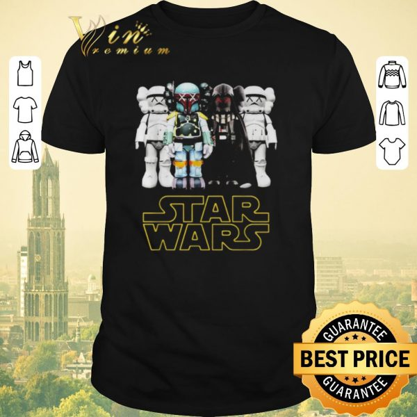 Funny Kaws Star Wars Stormtrooper Boba Fett Darth Vader shirt sweater
