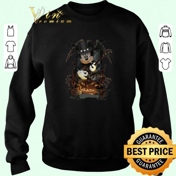 Funny Mickey Mouse Smoking Slash Pumpkin Halloween shirt sweater 2019