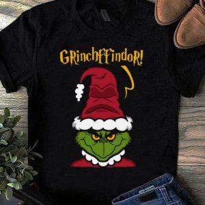 Great Gryffindor Santa Grinch Christmas shirt