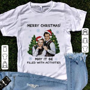 Great Merry Christmas May It Be Filled With Activities Step brothers shirt