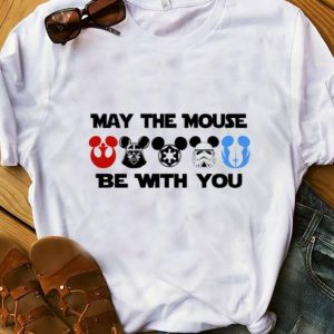 Hot Disney Star Wars Characters Mickey May The Mouse Be With You shirt