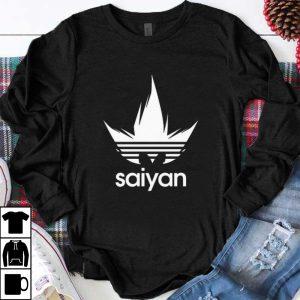 Hot Dragon Ball Z DBZ Saiyan Adidas shirt