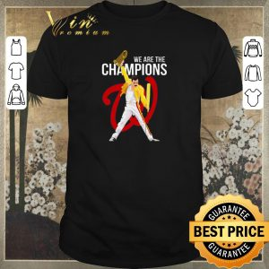 Hot Freddie Mercury Washington Nationals we are the champions shirt sweater