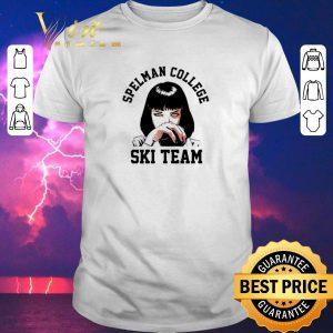 Hot Mia Wallace Spelman College Ski Team shirt sweater