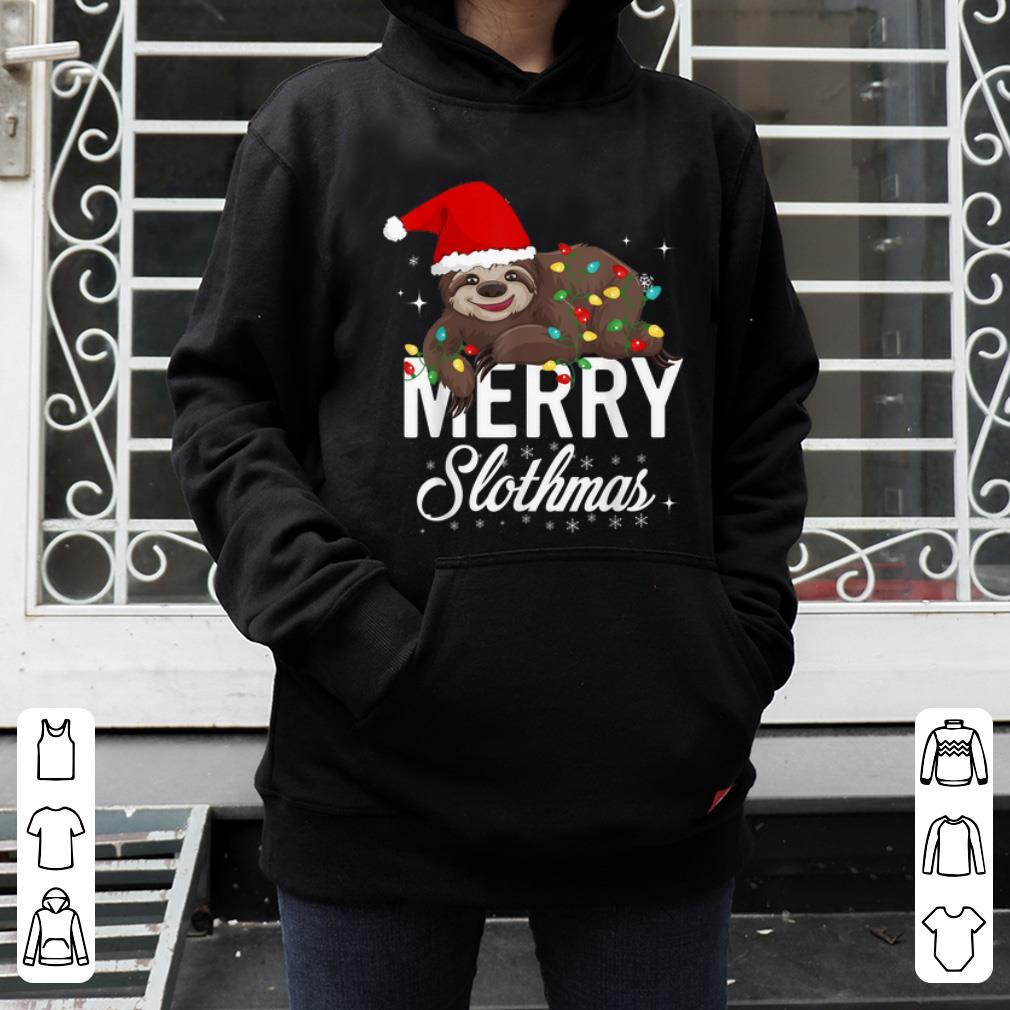 Hot Sloth Christmas Merry Slothmas Christmas shirt 4 - Hot Sloth Christmas, Merry Slothmas Christmas shirt