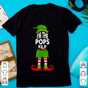Mens Christmas Family Matching Costume I'm The Pops Elf Xmas sweater