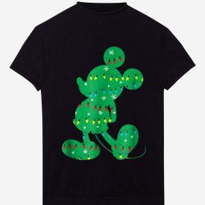 Nice Disney Mickey Mouse Christmas Lights shirt