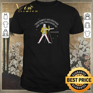 Nice Freddie Mercury Thunderbolt and lightning very very frightening me Galileo shirt sweater
