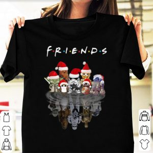 Nice Star Wars Characters Water Reflection Friends Christmas shirt