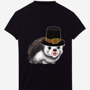 Nice Thanksgiving Pilgrim Hedgehog Holiday Tradition Gratitude shirt