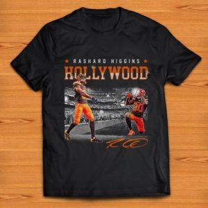 Official Cleveland Browns Rashard Higgins Hollywood Signature shirt