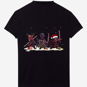 Official Darth Vader Kylo Ren And Darth Maul Star Wars Christmas shirt