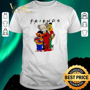 Official Friends Kaws and Sesame Street shirt sweater