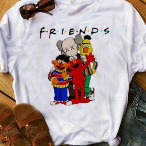 Official Friends Kaws and Sesame Street shirt