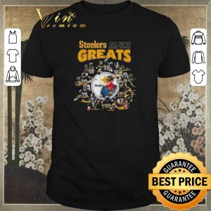 Official Pittsburgh Steelers all time greats players Signatures shirt
