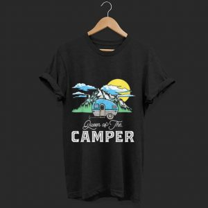 Official Queen Of The Camper Camping shirt