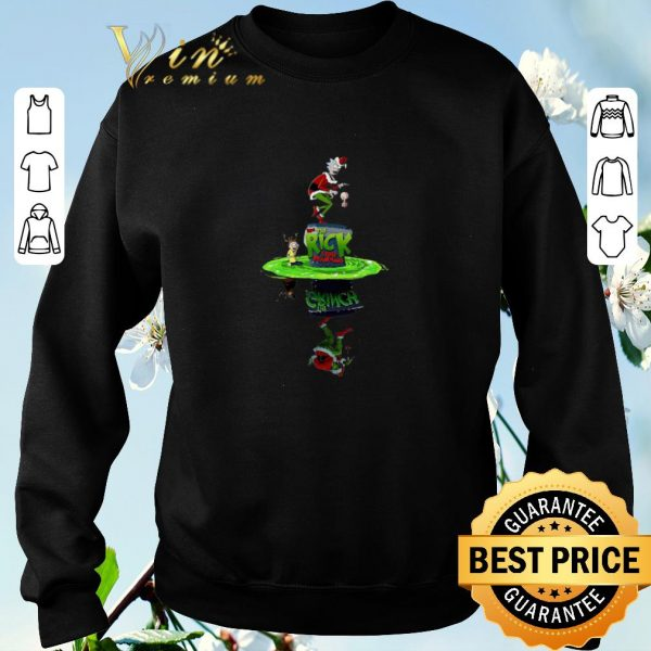 Official Rick And Morty Crossover The Grinch Stole Plumbus shirt sweater