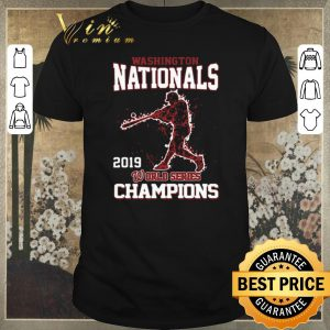 Official Washington Nationals 2019 World Series Champions shirt sweater