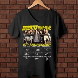 Original Brooklyn Nine-Nine 07th Anniversary Signatures shirt